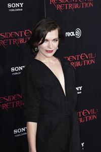 """Resident Evil: Retribution"" Premiere Milla Jovovich9-12-2012 / Regal Cinemas L.A. Live / Screen Gems / Los Angeles CA / Photo by Benny Haddad - Image 24252_0094"