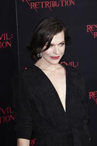 """Resident Evil: Retribution"" Premiere Milla Jovovich9-12-2012 / Regal Cinemas L.A. Live / Screen Gems / Los Angeles CA / Photo by Benny Haddad - Image 24252_0095"