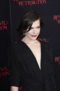 """Resident Evil: Retribution"" Premiere Milla Jovovich9-12-2012 / Regal Cinemas L.A. Live / Screen Gems / Los Angeles CA / Photo by Benny Haddad - Image 24252_0095"
