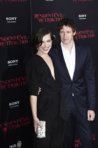 """Resident Evil: Retribution"" Premiere Milla Jovovich, Paul W.S. Anderson9-12-2012 / Regal Cinemas L.A. Live / Screen Gems / Los Angeles CA / Photo by Benny Haddad - Image 24252_0097"