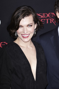 """Resident Evil: Retribution"" Premiere Milla Jovovich9-12-2012 / Regal Cinemas L.A. Live / Screen Gems / Los Angeles CA / Photo by Benny Haddad - Image 24252_0098"