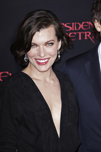 """Resident Evil: Retribution"" Premiere Milla Jovovich9-12-2012 / Regal Cinemas L.A. Live / Screen Gems / Los Angeles CA / Photo by Benny Haddad - Image 24252_0099"