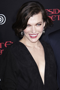"""Resident Evil: Retribution"" Premiere Milla Jovovich9-12-2012 / Regal Cinemas L.A. Live / Screen Gems / Los Angeles CA / Photo by Benny Haddad - Image 24252_0101"