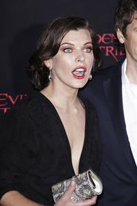 """Resident Evil: Retribution"" Premiere Milla Jovovich9-12-2012 / Regal Cinemas L.A. Live / Screen Gems / Los Angeles CA / Photo by Benny Haddad - Image 24252_0103"