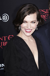 """Resident Evil: Retribution"" Premiere Milla Jovovich9-12-2012 / Regal Cinemas L.A. Live / Screen Gems / Los Angeles CA / Photo by Benny Haddad - Image 24252_0104"