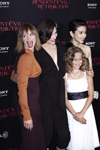 """Resident Evil: Retribution"" Premiere Milla Jovovich, Sienna Guillory, Aryana Engineer, Bingbing Li9-12-2012 / Regal Cinemas L.A. Live / Screen Gems / Los Angeles CA / Photo by Benny Haddad - Image 24252_0111"
