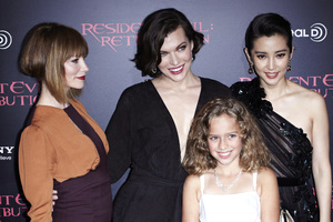 """Resident Evil: Retribution"" Premiere Milla Jovovich, Sienna Guillory, Aryana Engineer, Bingbing Li9-12-2012 / Regal Cinemas L.A. Live / Screen Gems / Los Angeles CA / Photo by Benny Haddad - Image 24252_0116"