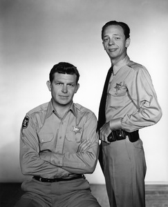 """The Andy Griffith Show""Andy Griffith, Don Knotts1962Photo by Gabi Rona - Image 2425_0100"