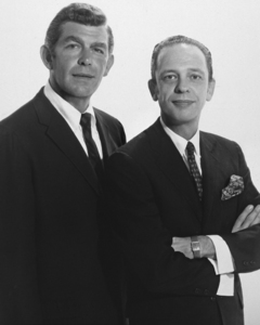 """The Andy Griffith Show""Andy Griffith, Don Knotts1965 © 1978 Glenn Embree - Image 2425_113"