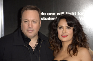 """Here Comes the Boom"" Premiere Kevin James, Salma Hayek10-9-2012 / AMC Lincoln Square / Sony Pictures / New York NY / Photo by Eric Reichbaum - Image 24254_300"