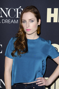 """""""Beyonce: Life is But a Dreamî PremiereZoe Lister Jones2-12-2013 / Ziegfeld Theater / New York NY / HBO / Photo by Eric Reichbaum - Image 24261_317"""