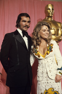 Burt Reynolds and Dyan Cannon at the Academy Awards1974© 1978 Paul Slaughter - Image 24262_0003