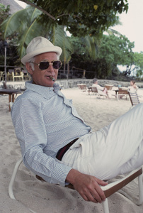 Norman Lear at Bora Bora, Tahiti1977© 1978 Paul Slaughter - Image 24262_0030