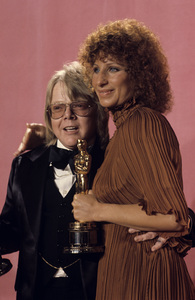 Barbra Streisand and Paul Williams at the Academy Awards1977© 1978 Paul Slaughter - Image 24262_0054