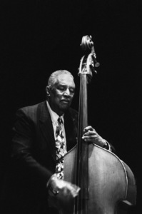 Ray Brown playing bass in Santa Fe2002© 2002 Paul Slaughter - Image 24262_0070