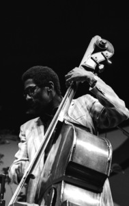 Ron Carter playing bass at the Monterey Jazz Festival1972© 1978 Paul Slaughter - Image 24262_0073