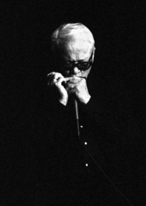 Toots Thielemans playing harmonica in Santa Fe2001© 2001 Paul Slaughter - Image 24262_0128