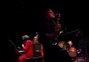 Toshiko Akiyoshi and Lew Tabackin at the New Mexico Jazz Festival2010© 2010 Paul Slaughter - Image 24262_0139