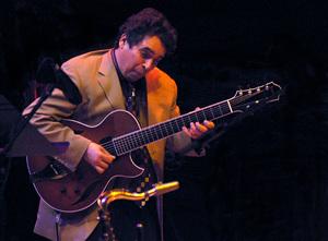 Howard Alden performing in Santa Fe, New Mexico2006© 2006 Paul Slaughter - Image 24262_0140