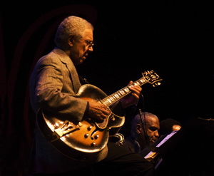 Kenny Burrell at the Monterey Jazz Festival2007© 2007 Paul Slaughter - Image 24262_0151