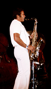 Stan Getz at the Hollywood Bowl1973© 1978 Paul Slaughter - Image 24262_0182
