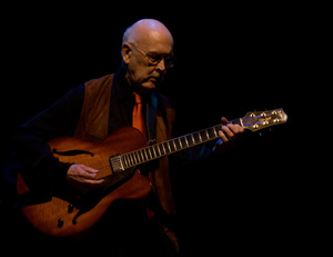 Jim Hall at the Monterey Jazz Festival2007© 2007 Paul Slaughter - Image 24262_0191