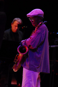 Jimmy Heath at the New Mexico Jazz Festival2009© 2009 Paul Slaughter - Image 24262_0198