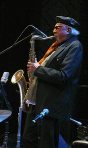 Charles Lloyd performing in Santa Fe2012© 2012 Paul Slaughter - Image 24262_0215