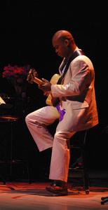 Russell Malone peforming in Santa Fe2006© 2006 Paul Slaughter - Image 24262_0220