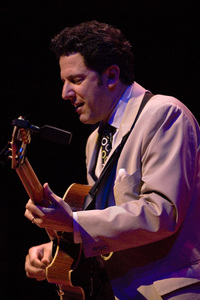 John Pizzarelli at the New Mexico Jazz Festival2007© 2007 Paul Slaughter - Image 24262_0236