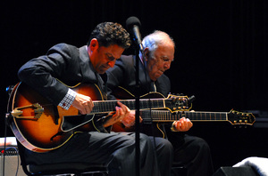 John and Bucky Pizzarelli at the New Mexico Jazz Festival2011© 2011 Paul Slaughter - Image 24262_0237