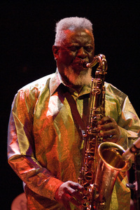 Pharoah Sanders at the New Mexico Jazz Festival2008© 2008 Paul Slaughter - Image 24262_0248