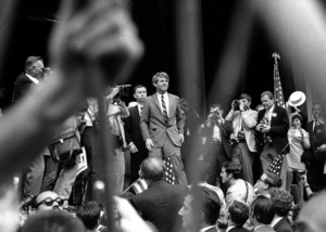 Robert Kennedy at the Greek Theater in Los Angeles1968© 1978 Paul Slaughter - Image 24262_0298