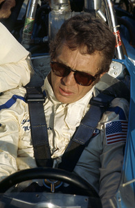 Steve McQueen at the Ontario Motor Speedway1971© 1978 Paul Slaughter - Image 24262_0302