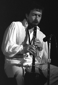 Paul Horn playing clarinet in Los Angeles1972© 1978 Paul Slaughter - Image 24262_0316