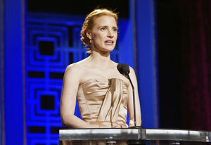"""2013 Writers Guild Awards"" Jessica Chastain02-17-2013 / JW Marriott Hotel / Los Angeles, CA © 2013 Michael Jones - Image 24263_0027"