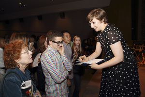Lena Dunham at the Writers Guild of America West