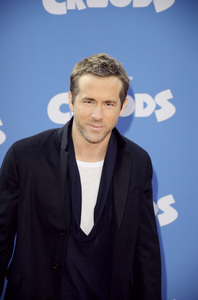 """The Croods"" Premiere Ryan Reynolds 3-10-2013 / AMC Loews Lincoln Square Theater / New York NY / Dreamworks / Photo by Eric Reichbaum - Image 24266_100"