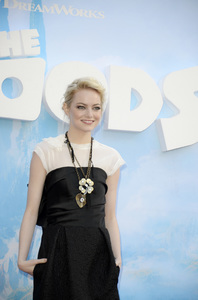 """""""The Croods"""" Premiere Emma Stone 3-10-2013 / AMC Loews Lincoln Square Theater / New York NY / Dreamworks / Photo by Eric Reichbaum - Image 24266_109"""