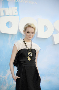 """""""The Croods"""" Premiere Emma Stone 3-10-2013 / AMC Loews Lincoln Square Theater / New York NY / Dreamworks / Photo by Eric Reichbaum - Image 24266_117"""