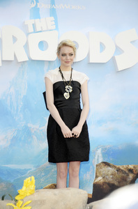 """""""The Croodsî PremiereEmma Stone3-10-2013 / AMC Loews Lincoln Square Theater / New York NY / Dreamworks / Photo by Eric Reichbaum - Image 24266_133"""