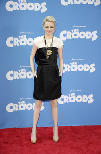 """""""The Croods"""" Premiere Emma Stone 3-10-2013 / AMC Loews Lincoln Square Theater / New York NY / Dreamworks / Photo by Eric Reichbaum - Image 24266_170"""
