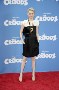 """""""The Croods"""" Premiere Emma Stone 3-10-2013 / AMC Loews Lincoln Square Theater / New York NY / Dreamworks / Photo by Eric Reichbaum - Image 24266_171"""