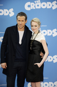 """The Croods"" Premiere Ryan Reynolds, Emma Stone 3-10-2013 / AMC Loews Lincoln Square Theater / New York NY / Dreamworks / Photo by Eric Reichbaum - Image 24266_187"