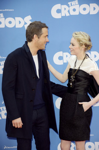 """""""The Croods"""" Premiere Ryan Reynolds, Emma Stone 3-10-2013 / AMC Loews Lincoln Square Theater / New York NY / Dreamworks / Photo by Eric Reichbaum - Image 24266_193"""