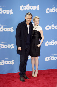 """""""The Croods"""" Premiere Ryan Reynolds, Emma Stone 3-10-2013 / AMC Loews Lincoln Square Theater / New York NY / Dreamworks / Photo by Eric Reichbaum - Image 24266_204"""