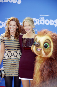 """""""The Croods"""" Premiere Robyn Blakely, Blake Lively 3-10-2013 / AMC Loews Lincoln Square Theater / New York NY / Dreamworks / Photo by Eric Reichbaum - Image 24266_228"""