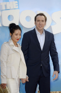 """The Croods"" Premiere Alice Kim, Nicolas Cage 3-10-2013 / AMC Loews Lincoln Square Theater / New York NY / Dreamworks / Photo by Eric Reichbaum - Image 24266_26"