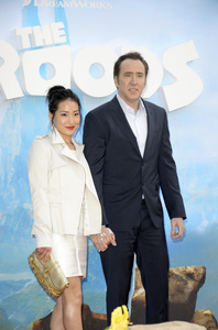 """""""The Croods"""" Premiere Alice Kim, Nicolas Cage 3-10-2013 / AMC Loews Lincoln Square Theater / New York NY / Dreamworks / Photo by Eric Reichbaum - Image 24266_33"""