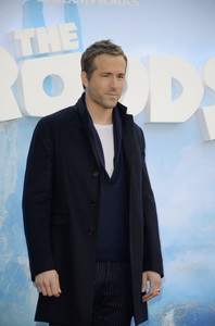 """""""The Croods"""" Premiere Ryan Reynolds 3-10-2013 / AMC Loews Lincoln Square Theater / New York NY / Dreamworks / Photo by Eric Reichbaum - Image 24266_54"""